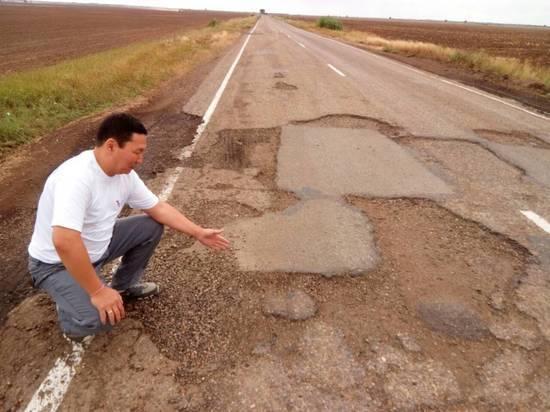 На ремонт дорог в Калмыкии потратят вдвое больше