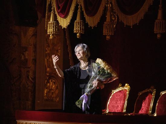 В Большом театра отметили юбилей народной артистки СССР Марины Кондратьевой