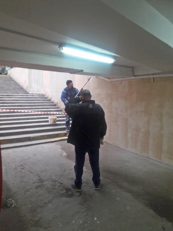 В Симферополе приводят в порядок переходы