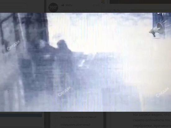 Драка у телеграфа, в которой погиб чемпион по рукопашному бою, попала на видео