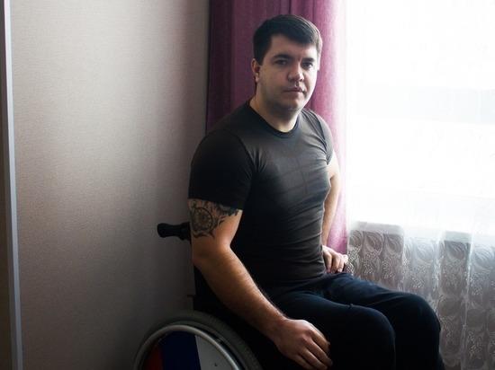 Спортсмен-колясочник рассказал о «доступной среде» в столице Алтайского края