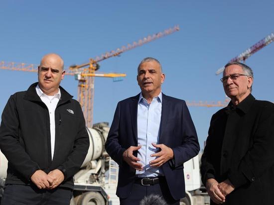"""Строительство района """"Глиль Ям"""" в Герцлии продолжается после вмешательства Кахлона"""