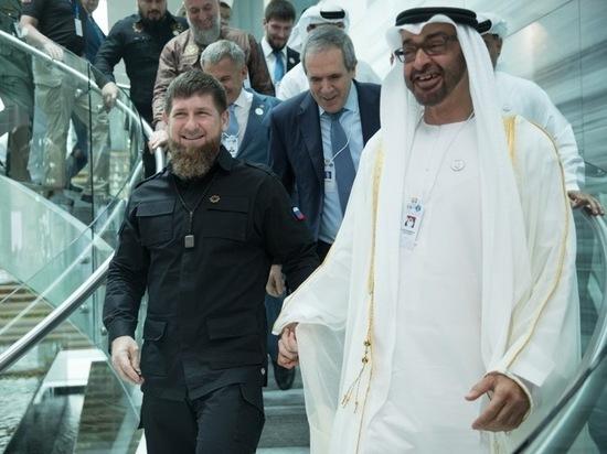 Уехавший в ОАЭ Кадыров признал свою нетрудоспособность