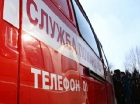 В Ярославле горел склад с бытовой техникой