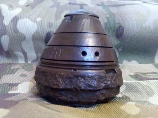 Курянин хранил дома артиллерийский снаряд