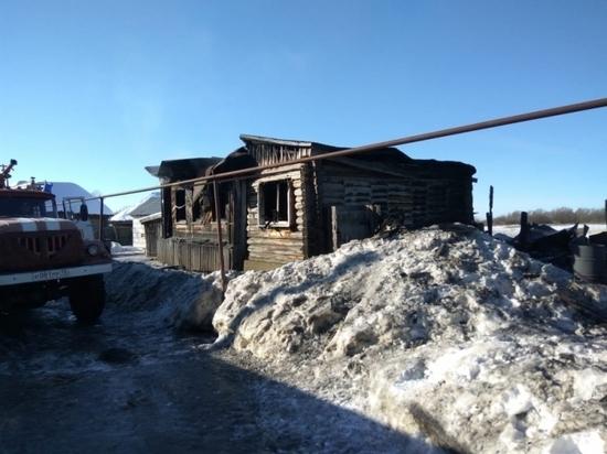 В Мордовии пенсионер обгорел во время пожара