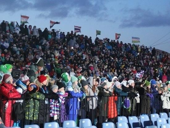 На острове завершились зимние игры «Дети Азии»