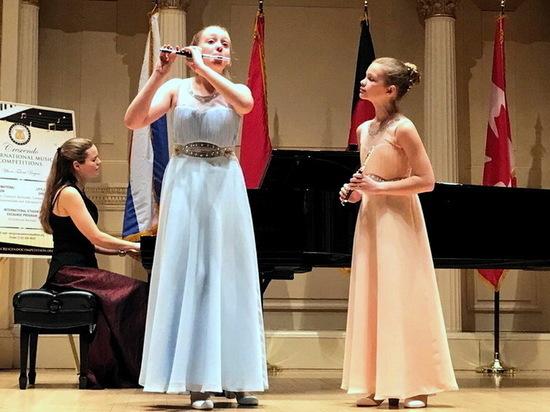 Воронежские флейтистки победили на международном конкурсе в США
