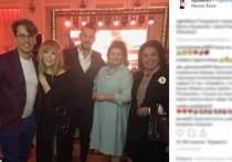 Трогательные поздравительные слова сказала Алла Пугачева, придя с Максимом Галкиным поздравить популярную актрису Ирину Муравьеву с юбилеем