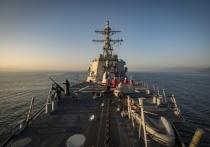 Российские корабли контролируют перемещения и действия заморского гостя
