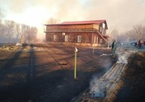 В Астраханской области сгорела любимая база артистов шоу-бизнеса