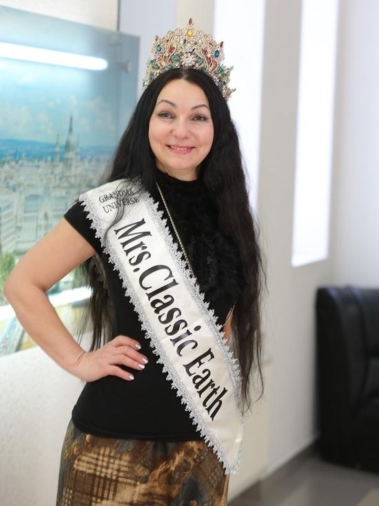 Мать восьмерых детей получила титул «Миссис Вселенная Классик 2019»