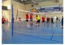 Ветераны из Серпухова стали победителями турнира по волейболу