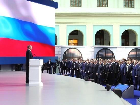Путин: оборонная часть послания была призвана успокоить россиян