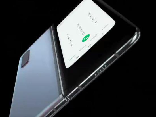 Компания Samsung представила первый в мире гнущийся смартфон