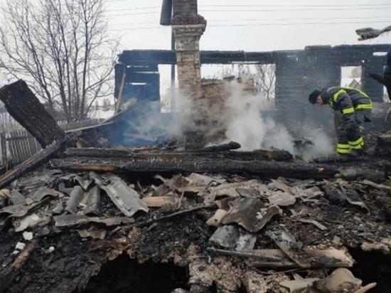 Три человека в Пижанском районе погибли из-за поджога