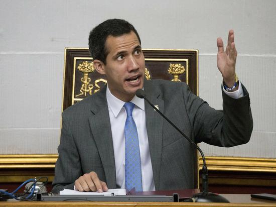 Назвавший себя президентом Венесуэлы Гуайдо опроверг поддержку Мадуро в РФ