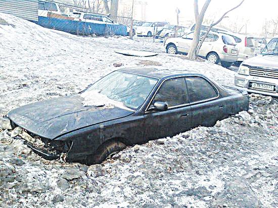 Что будет с машиной, если она простояла всю зиму во дворе