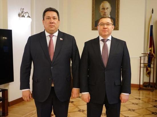 Сенатор Полетаев встретился с Министром строительства и жилищно-коммунального хозяйства РФ
