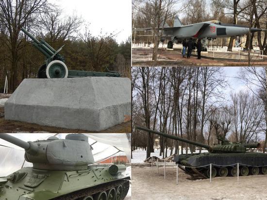 Танки, самолёты, пушки: где в Твери увидеть военную технику