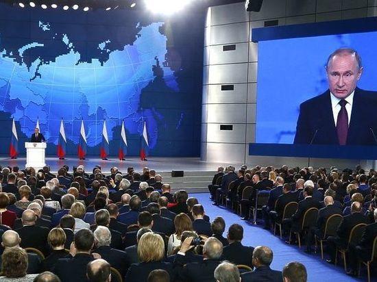 Кремль объяснил непопулярность послания Путина на ТВ