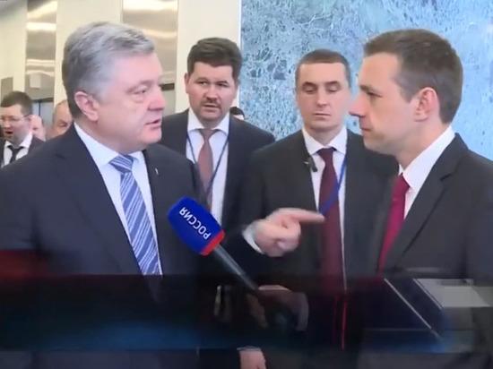 Порошенко назвал российского корреспондента и его лидера «убийцей украинцев»