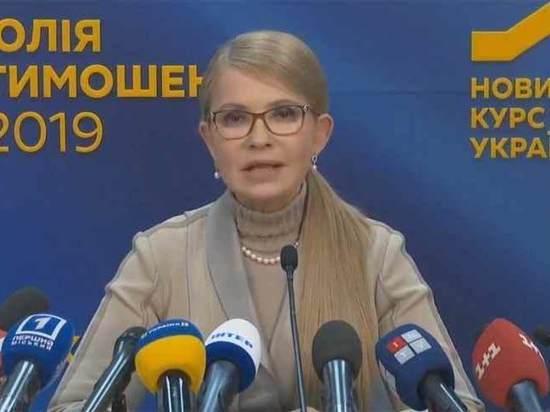 Лидерство Зеленского и рейтинг Порошенко вызвали у Тимошенко истерику