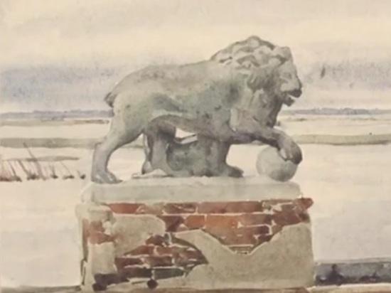 На Рыбинском водохранилище аквалангисты ищут каменных львов Мологи - МК Ярославль