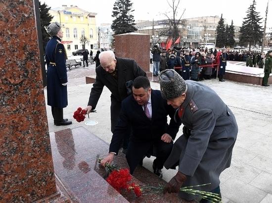 В центре Твери начались торжества в честь Дня защитника Отечества