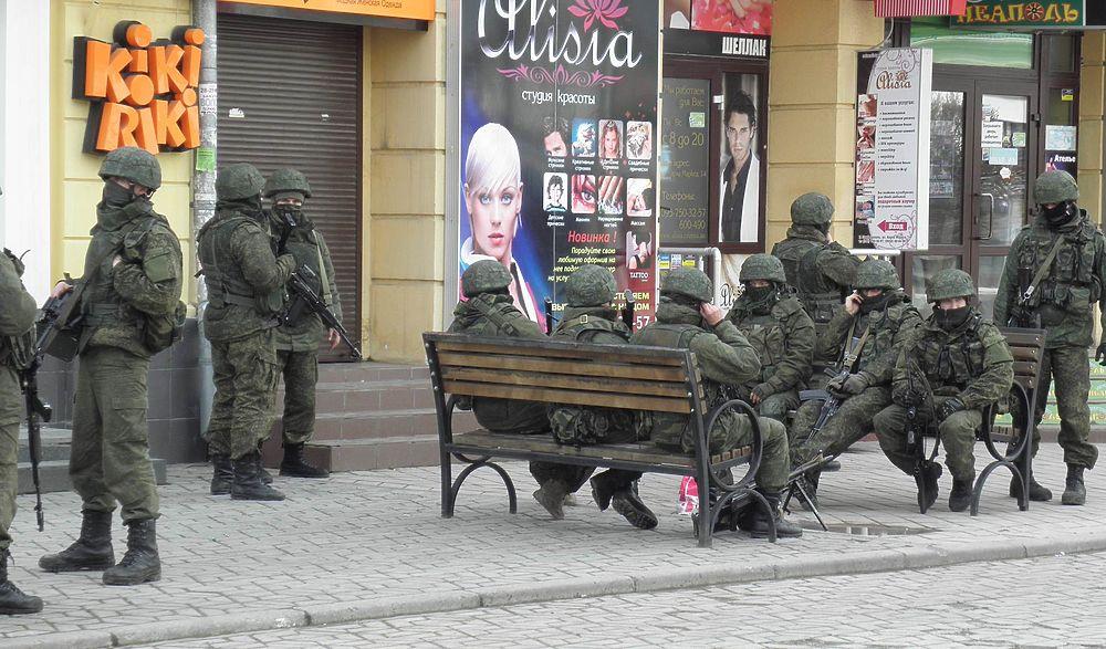 """Появление """"вежливых людей"""" в Симферополе: как Украина потеряла Крым"""