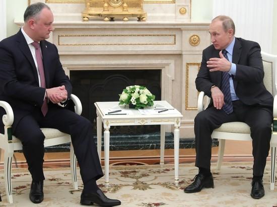 Молдавская ловушка для Путина: «Додон и Плахотнюк действуют в тандеме?»