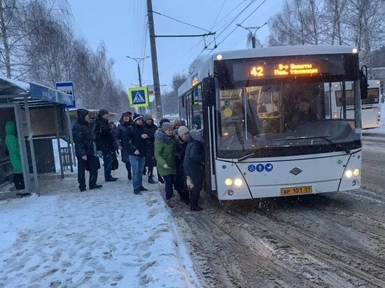 В Чебоксарах пополняется парк автобусов