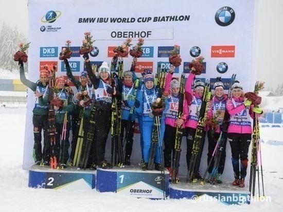 Источник прокомментировал информацию о возможной дисквалификации российской биатлонистки