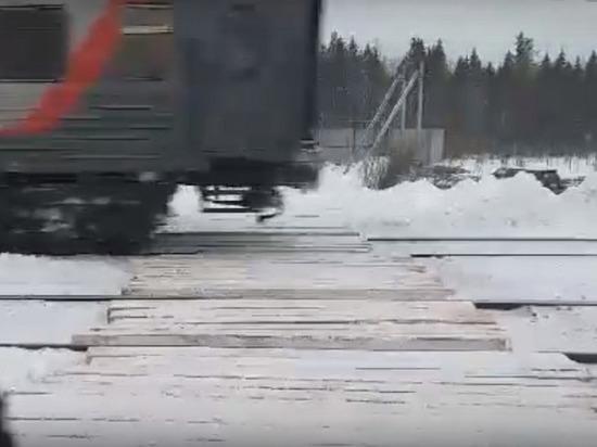 Строители мусорного могильника могут спровоцировать крушение поездов