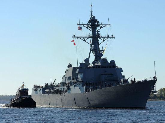 Американский эсминец скрылатыми ракетами зашел вБалтийское море