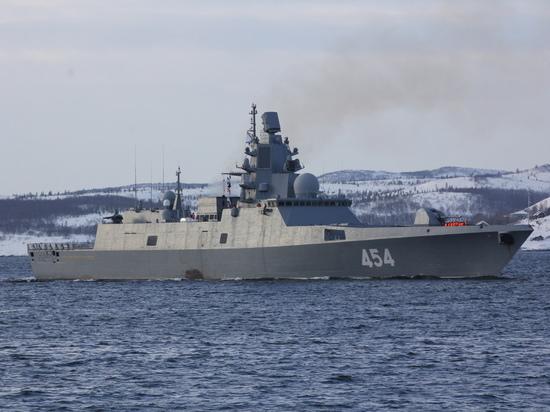 Новейший фрегат Северного флота