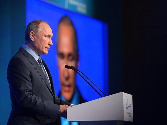 Тува: Конкретика Президента России удачно упала на сибирскую землю