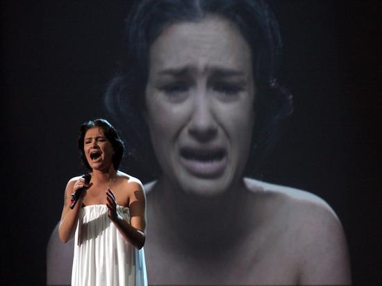 Украинская певица Приходько жалеет что участвовала в Евровидении от России