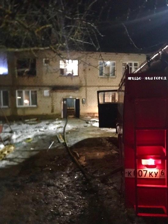 В Ярцево Смоленской области хлопком газа разнесло квартиру