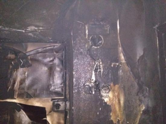 Непотушенная сигарета привела к пожару в квартире в Сафоново