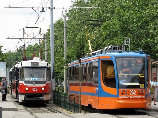 За три года Краснодар закупит почти 100 новых трамваев