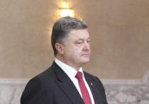 В администрации Порошенко объяснили инцидент со срыванием шапки