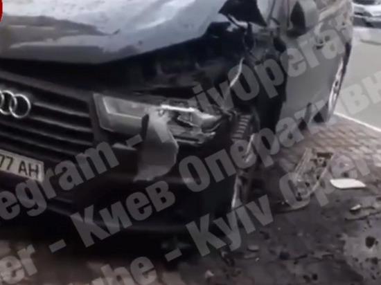 На окраине Киева взорван Audi секретаря Совбеза Александра Турчинова