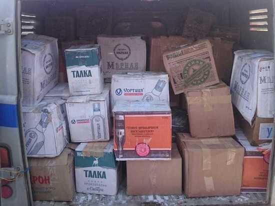 В восьми районах Башкирии правоохранители накрыли склады подпольного алкоголя