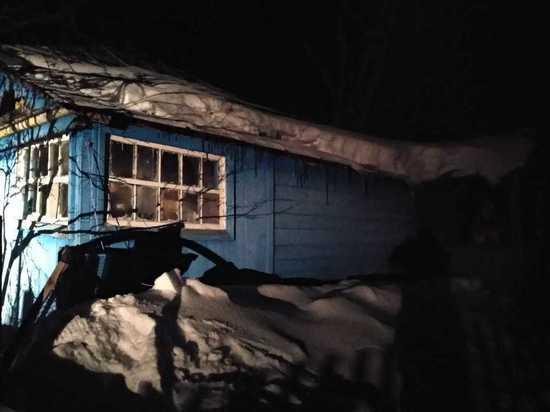 В Мордовии соседи вынесли мертвую пенсионерку из горящего дома