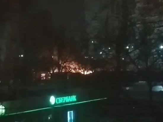 На проспекте Ленина в Туле сгорели пять палаток и две «газели»