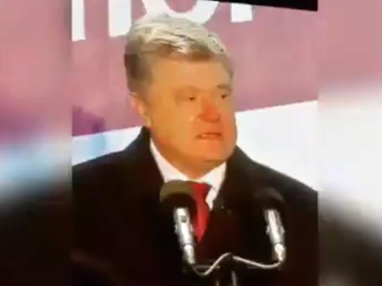 Порошенко поспорил с военными по поводу своего пьянства: «Сами выпили»