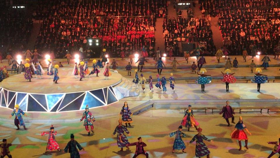 Церемония открытия Универсиады 2019 в Красноярске: онлайн-трансляция