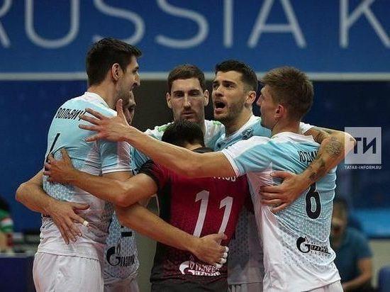 «Зенит-Казань» вышел на первое место в турнирной таблице Суперлиги