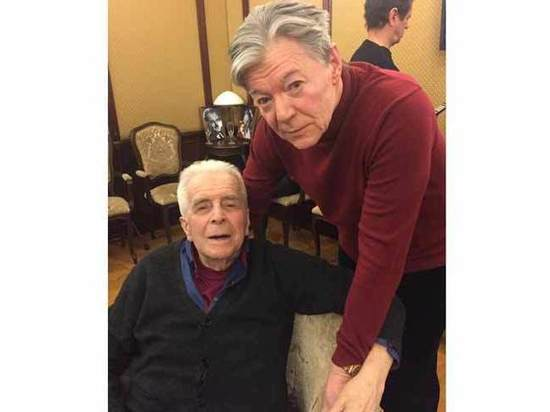 Легенду театра Вахтангова Евгения Федорова поздравили с 95-летием